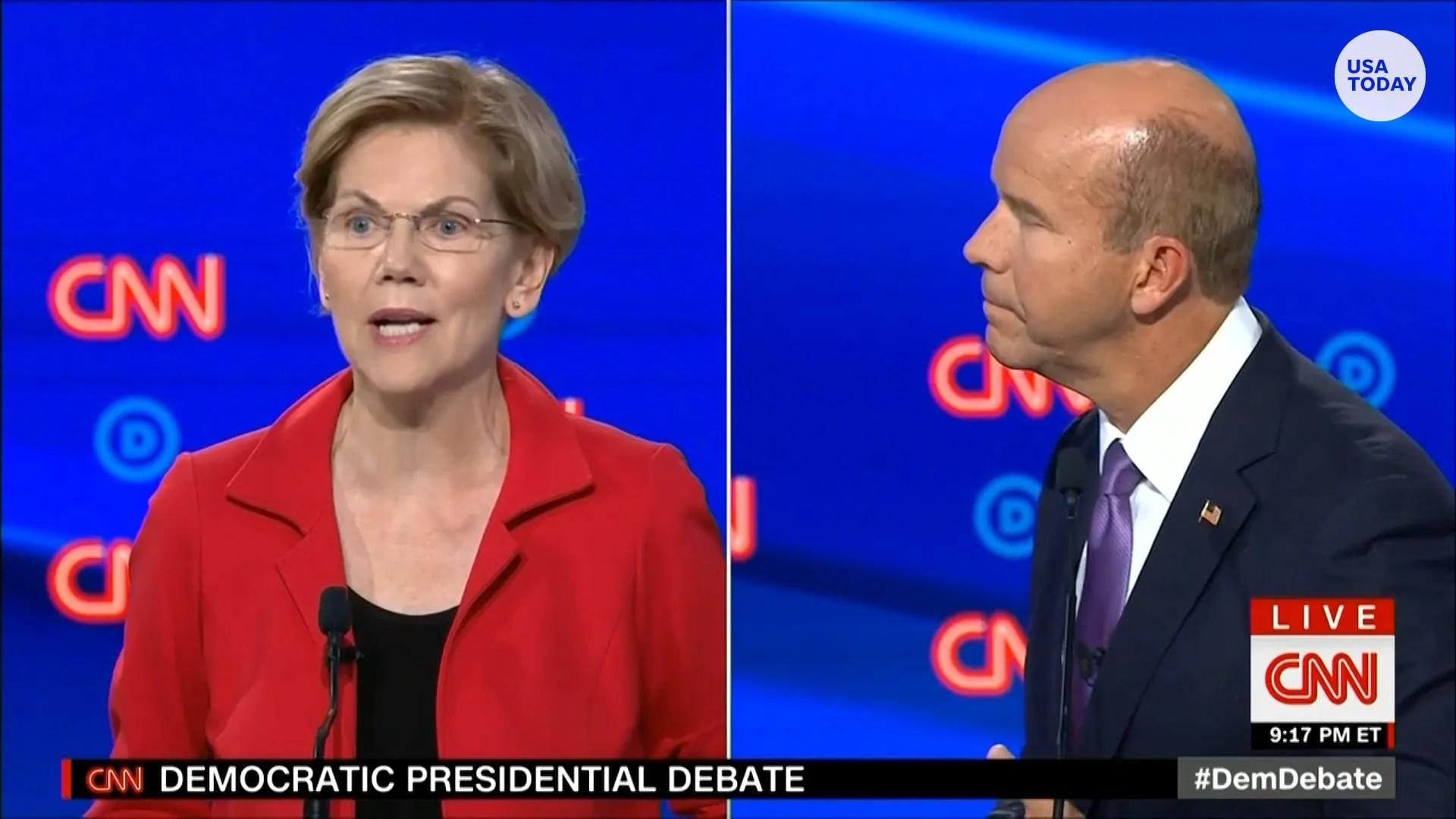 democratic debate winners are