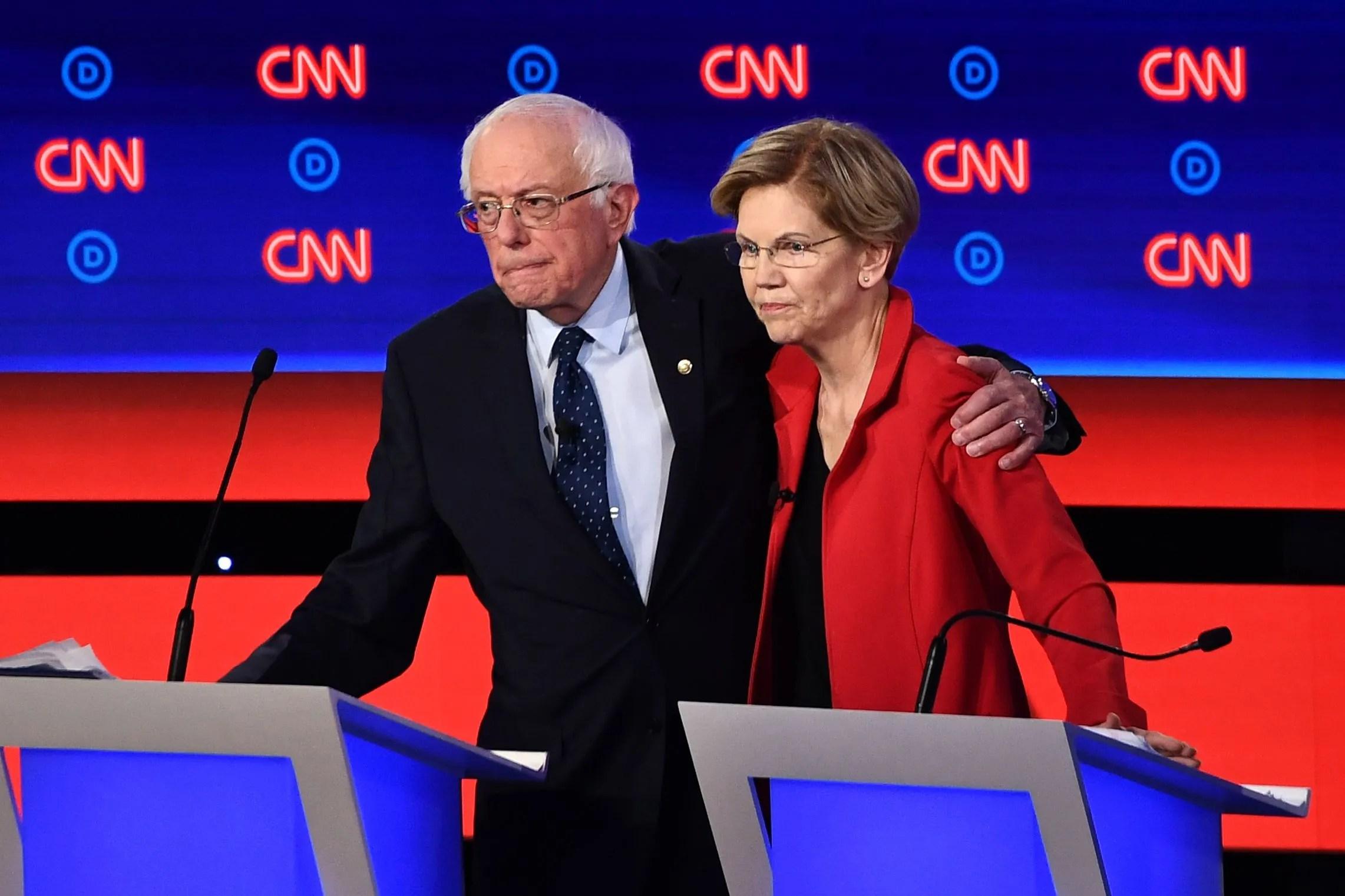 democratic debate winners and