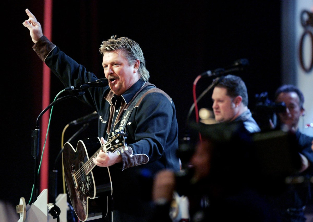 """Joe Diffie performs at the Grand Ole Opry Sept. 12, 2006 during a special tribute to George Jones for his 75th birthday. One of Diffie biggest hits is """"John Deere Green."""""""