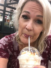 Rhonda Rhiner stopped using plastic straws because Aquaman said it was bad for the ocean.