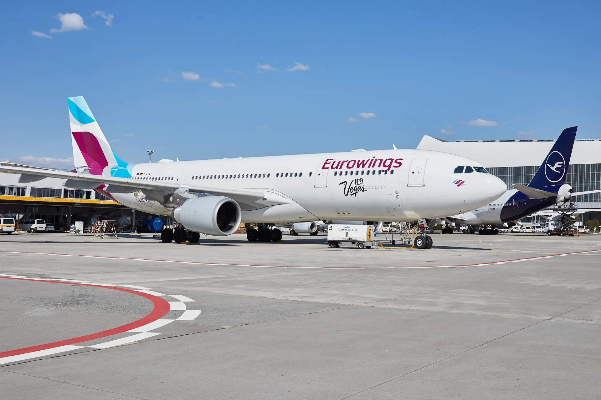 lufthansa eurowings airline what