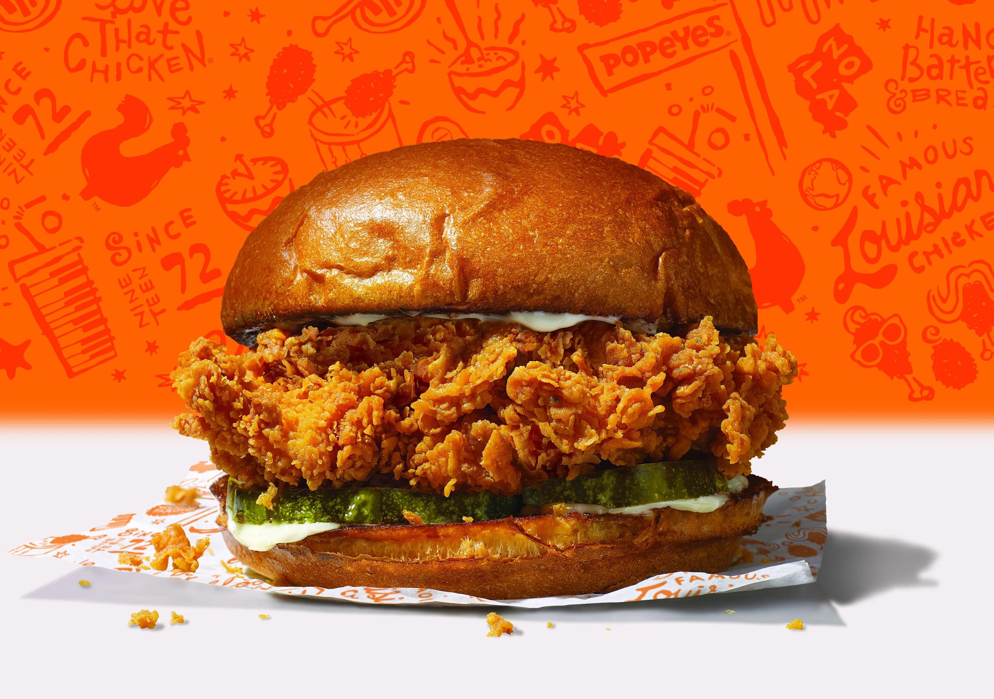 popeyes chicken sandwich Popeyes, Chick-fil-A, Wendy's chicken sandwiches: Battle