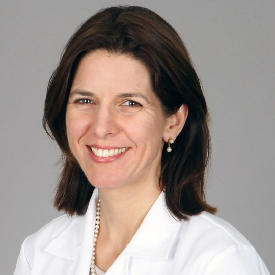 Dr. Emily Dossett is an assistant clinical professor of psychiatry and obstetrics and gynecology at the University of Southern California's Keck School of Medicine and director of Women's Health and Reproductive Psychiatry for Los Angeles County's Department of Mental Health.