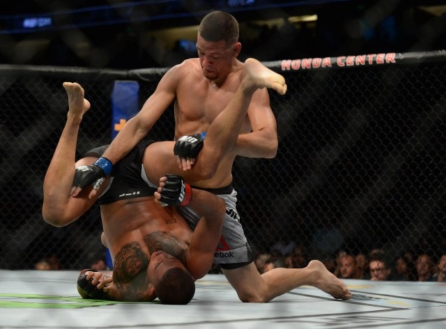 efeb1311-6d35-4a2b-bb20-f248c04e5109-USATSI_13227433 Nate Diaz scores unanimous decision victory vs. Anthony Pettis in return at UFC 241