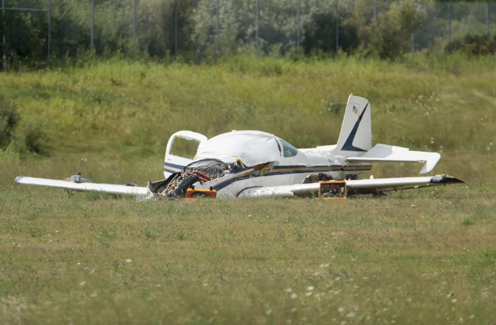 report howell plane crash