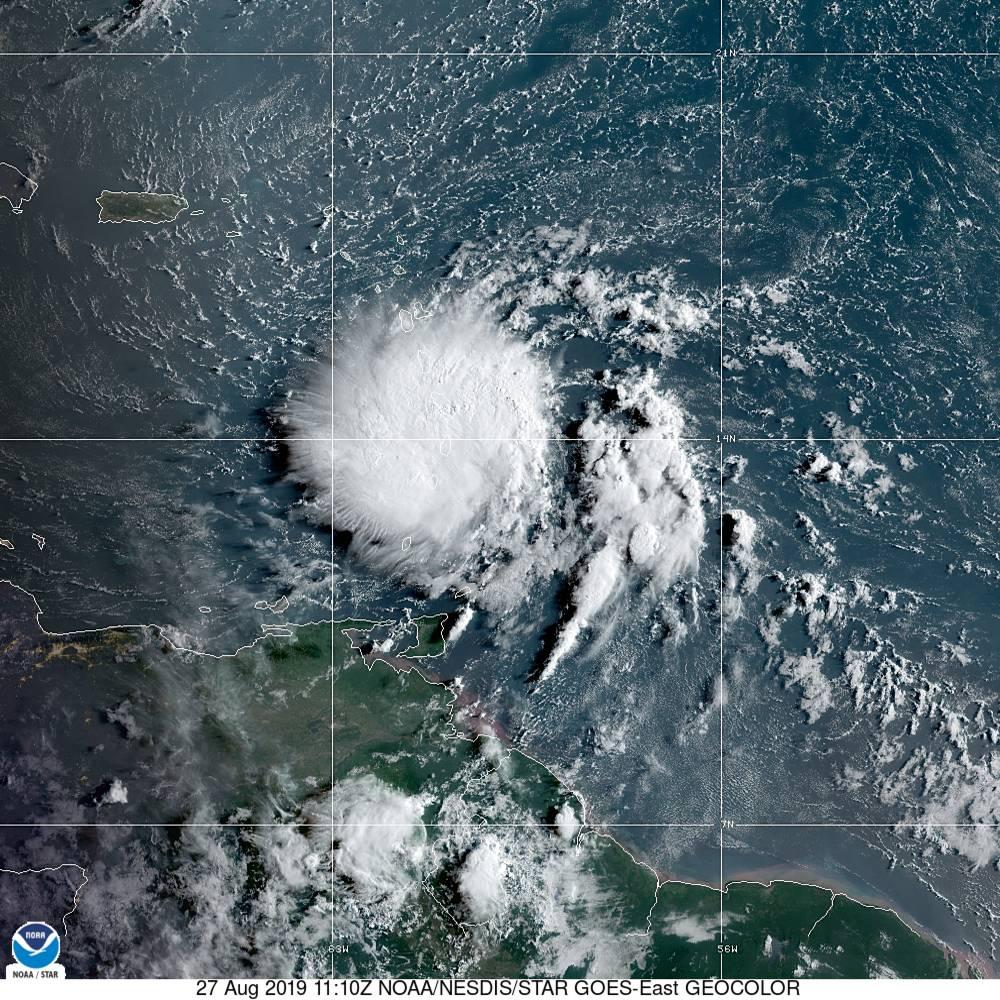 tropical storm dorian nhc