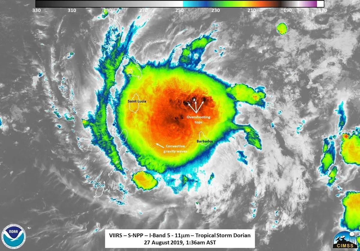 hurricane dorian storm forecast