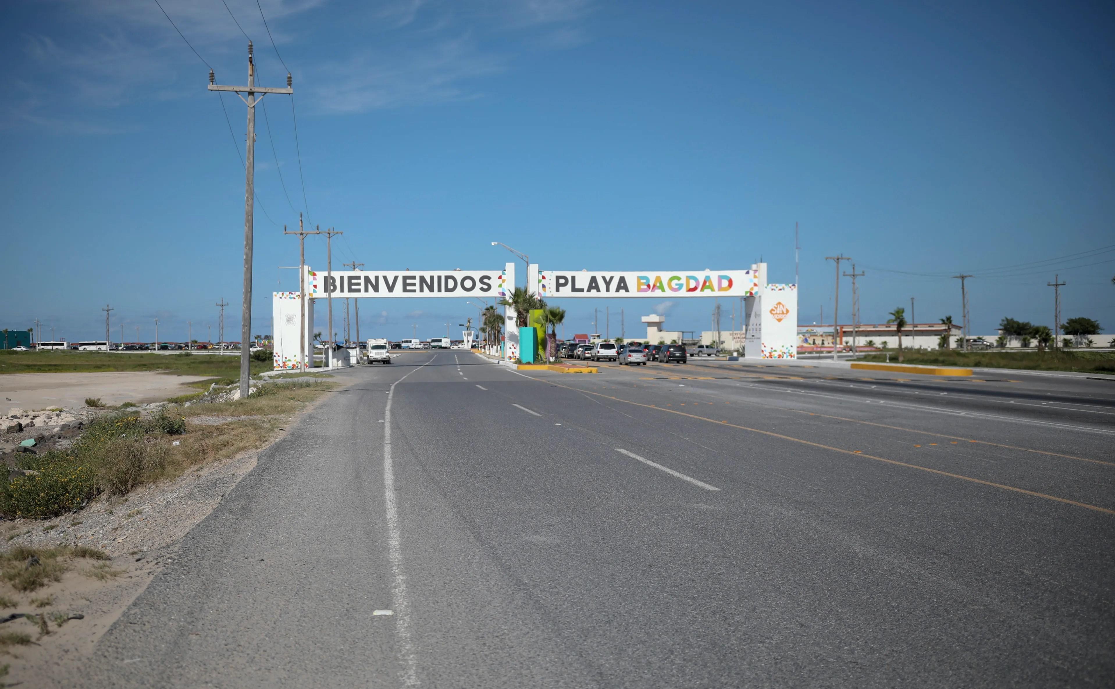 playa bagdad us mexico