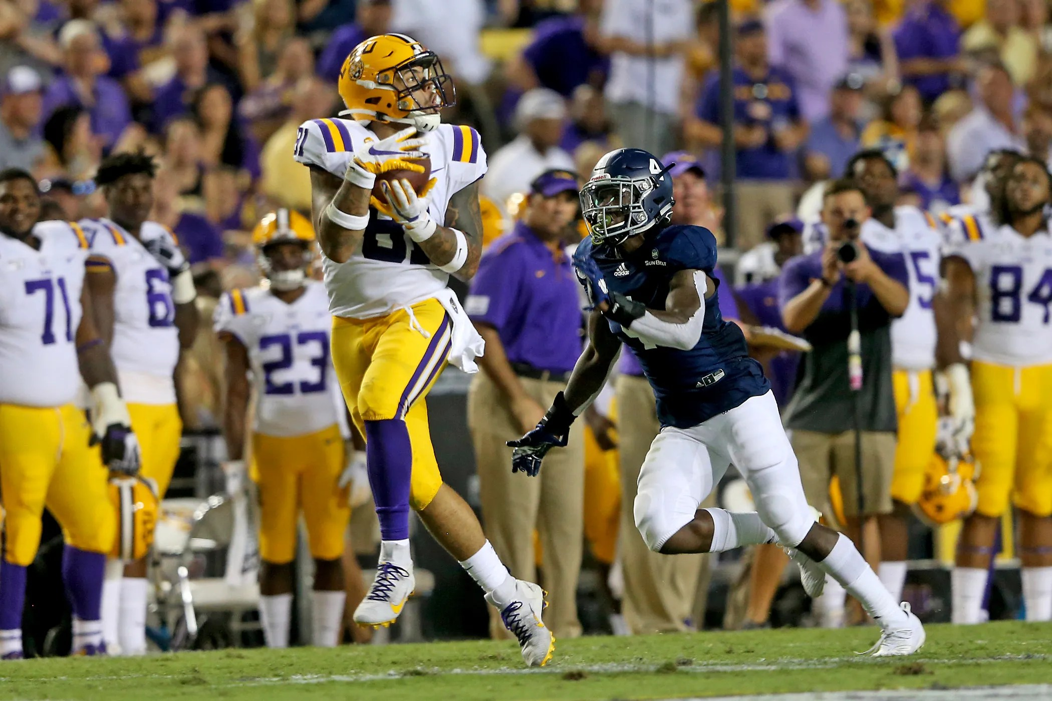 Thaddeus Moss 5 Facts About The Lsu Football Tight End