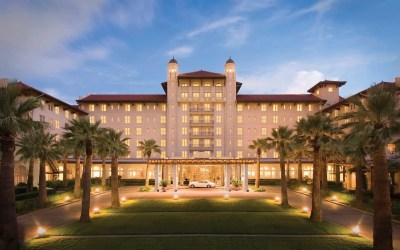 The Hotel Galvez, which is located in Galveston, is said to be home to mysterious spirits from the unknown.