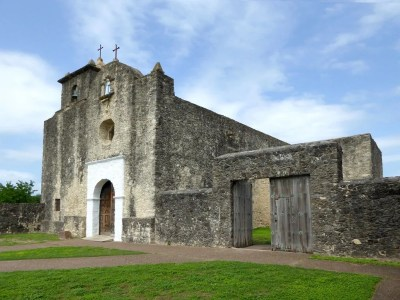 Presidio La Bahia, which is located in Goliad, was the center of the Battle of Goliad and the Goliad Massacre during the Texas Revolution.