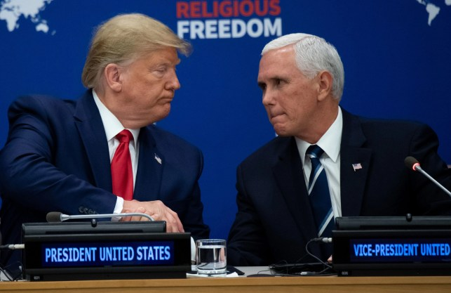 Report: Mike Pence aide monitored Donald Trump's call with Ukraine president