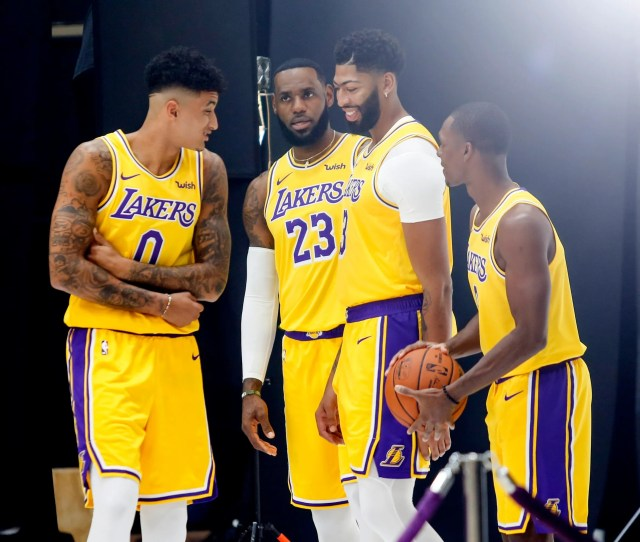 Lakers Nba Title Hopes Hinge On More Than Lebron James Anthony Davis