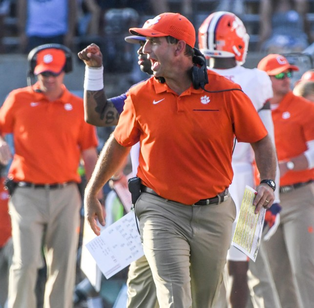 No suspense here: Clemson dismantles Florida State early and often