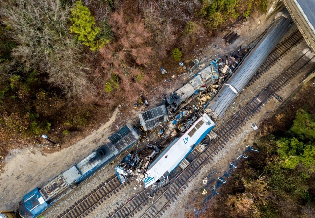 NTSB finds blame for Amtrak crash into CSX freight train in S.C. that killed 2, injured 91