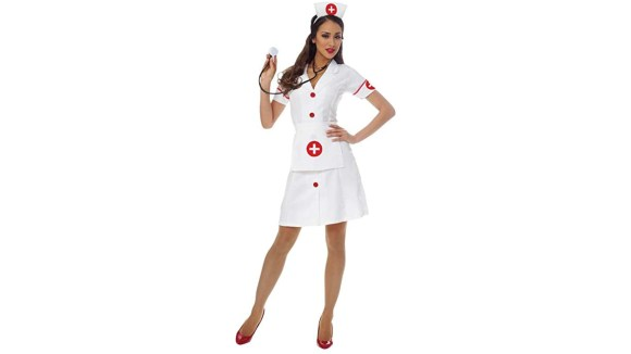 No need to go to nursing school to look the part of a medical professional.