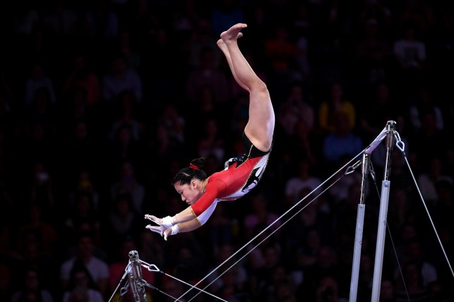 How did they do that? Amazing photos from world gymnastics championships