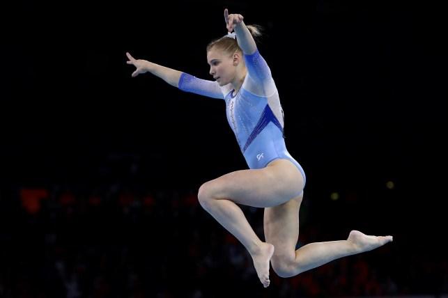 Arizona gymnast Jade Carey tops vault qualifying, gets rare 'win' over Simone Biles