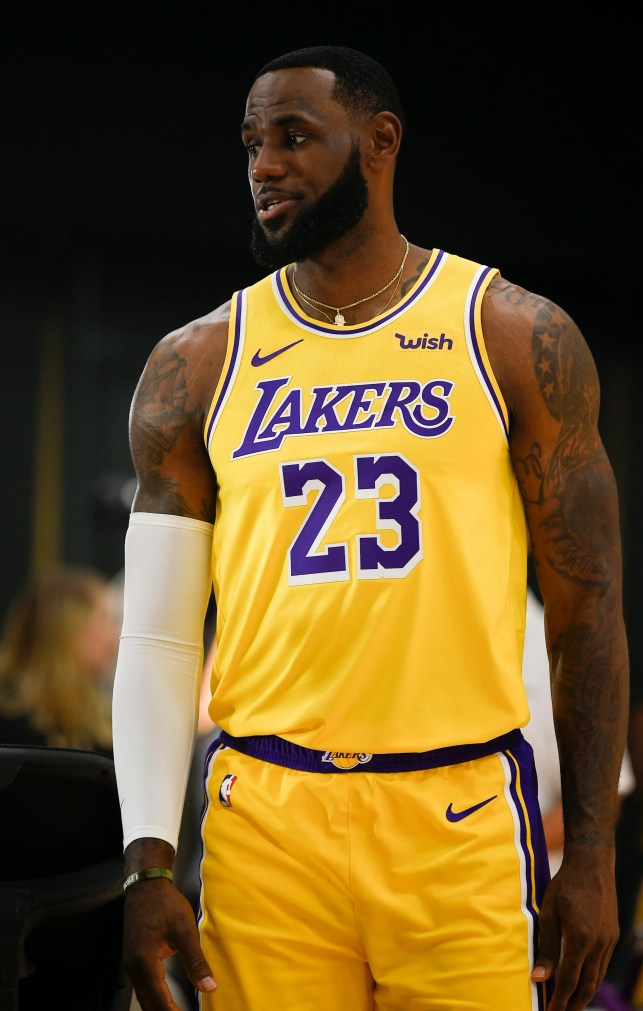 Opinion: It's time for LeBron James to speak out on China, regardless of Nike ties