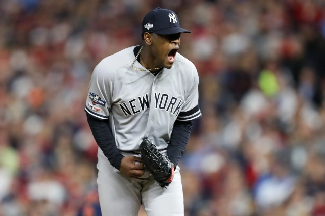 Luis Severino shines, Yankees sweep Twins to advance to ALCS