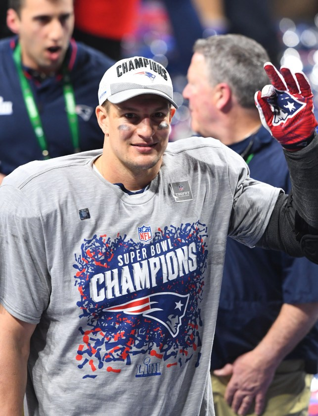 Former New England Patriots TE Rob Gronkowski hired by FOX Sports as NFL analyst