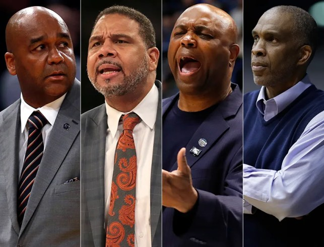 Black coaches once ruled college basketball. Now their numbers are dwindling.