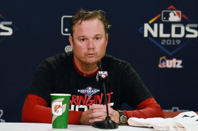 Cardinals player streams manager Mike Shildt's expletive-filled postgame speech