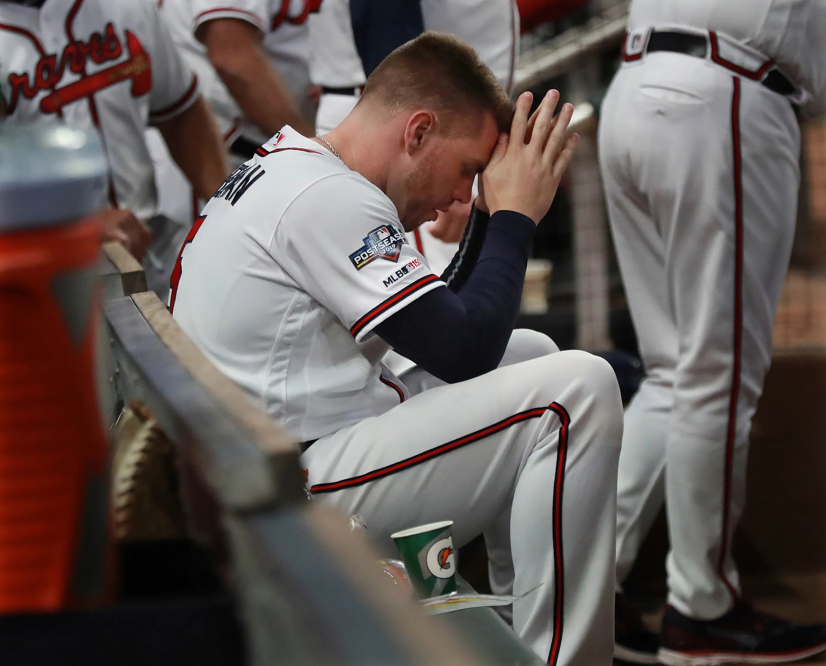 Mlb Playoffs Braves Season Ends With Nightmare Loss Vs