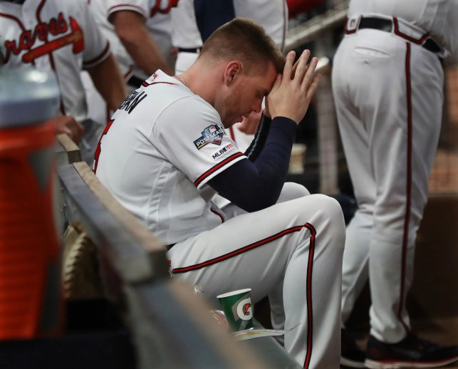 'Stuff happens fast': Braves live out a nightmare as postseason ends with first-inning meltdown