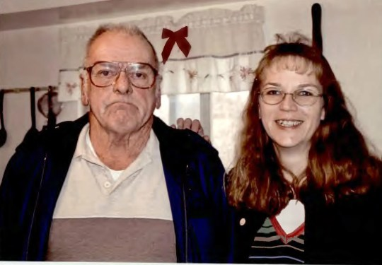 """Felix """"Kirk"""" McDermott, 82, with his daughter, Melanie Proctor. When McDermott's blood-sugar level plummeted before his death April 9, 2018, medical records do not indicate that anyone ordered a blood test that could have detected the unprescribed insulin investigators now believe coursed through his veins, killing him."""
