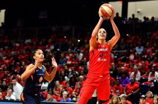 Elena Delle Donne scored 21 points against the Connecticut Sun in Game 5 to lead the Washington Mystics to the WNBA title.