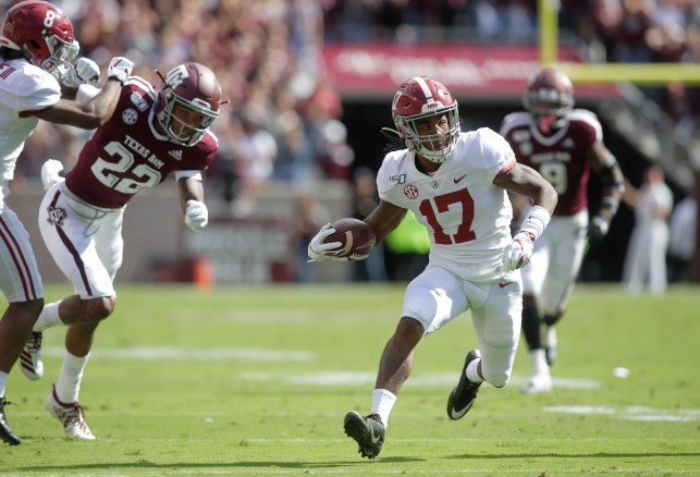 This time Jaylen Waddle leads the way as No. 1 Alabama posts win at No. 21 Texas A&M
