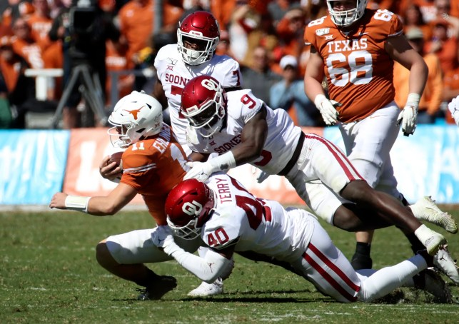 No. 5 Oklahoma with a stingy defense and CeeDee Lamb prove too much for Texas