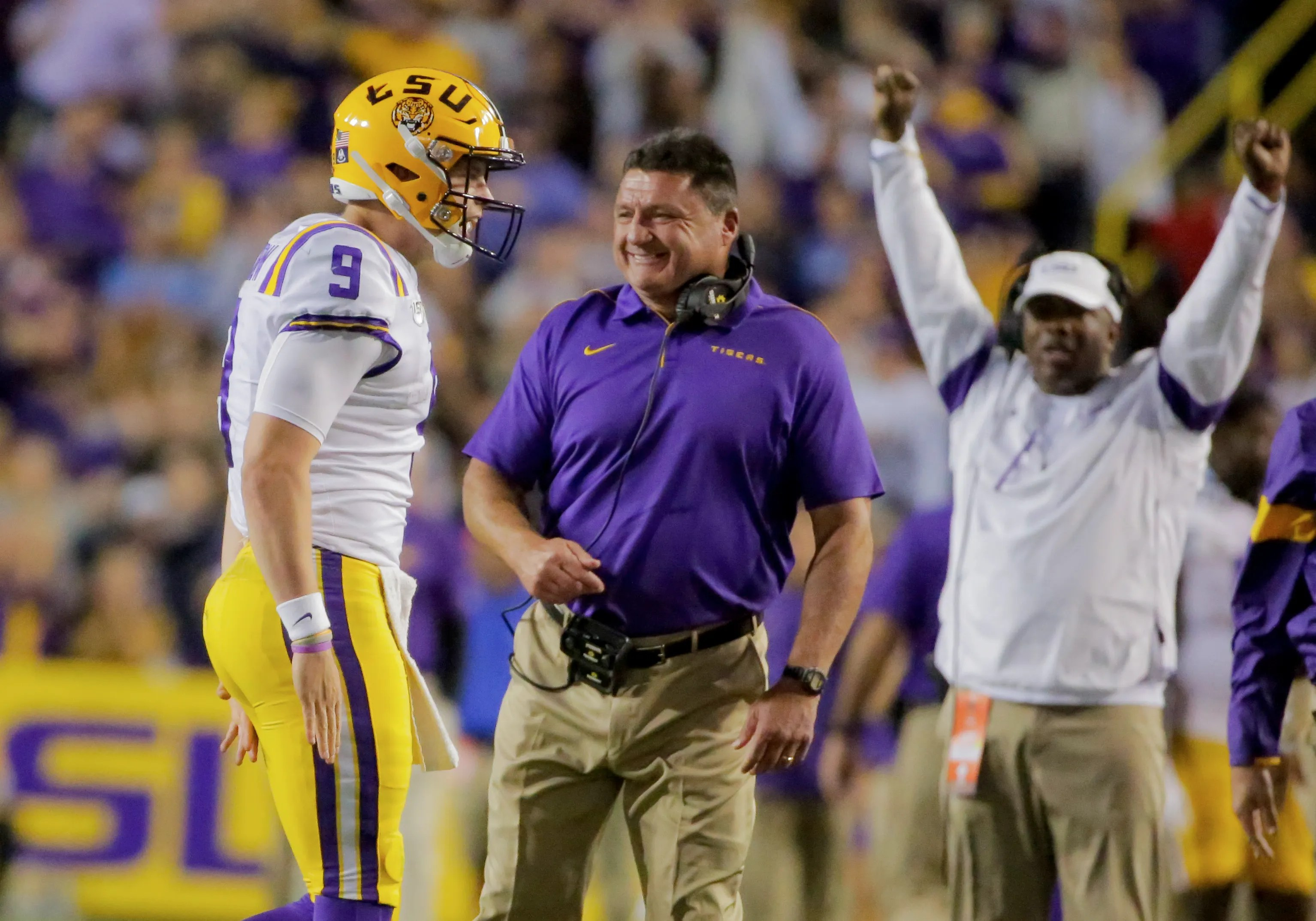 College Football Playoff Projection Lsu Gets Boost With
