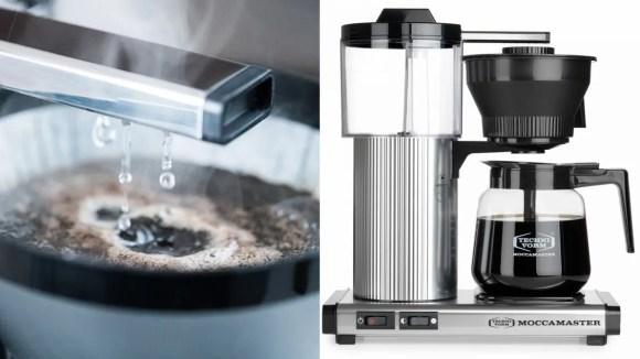 Tan elegante como funcional, el Moccamaster es considerado la mejor cafetera que el dinero puede comprar.