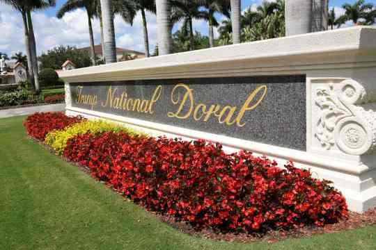 Trump National Doral golf resort in Miami