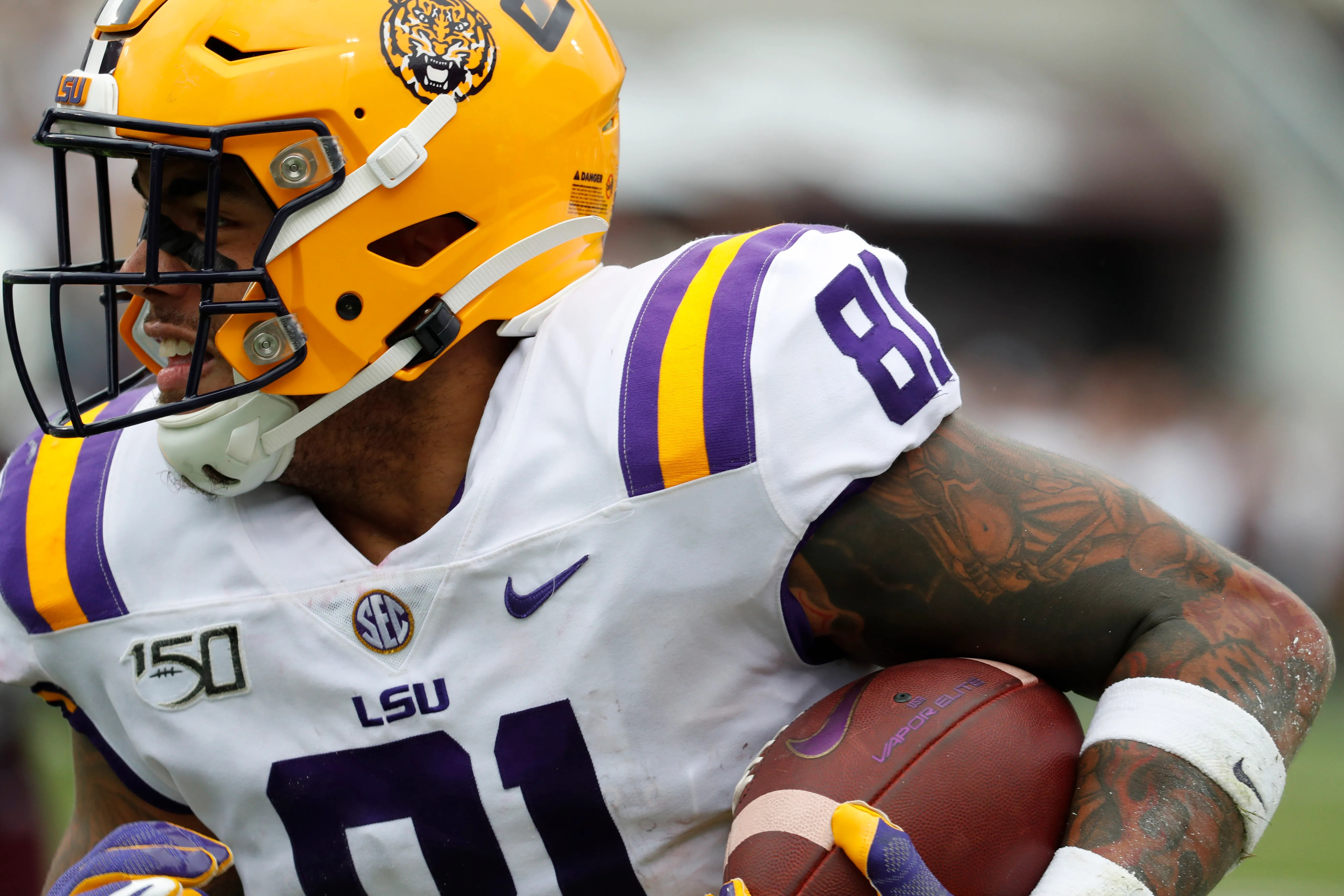 Lsu S Thaddeus Moss Is Living Up To His Dad S Name