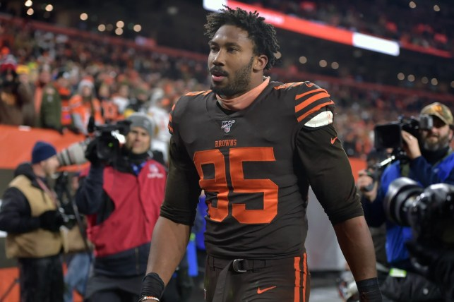 Why the Browns' Myles Garrett likely won't face charges after hitting Steelers QB Mason Rudolph with helmet