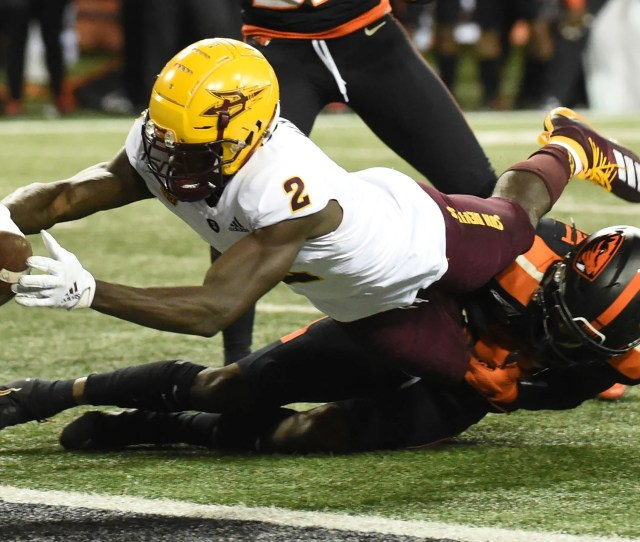 Asu Football Brandon Aiyuk Michael Turk Lead Solid Special Teams
