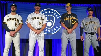 Brewers hit a home run with uniform and logo unveiling Monday night.