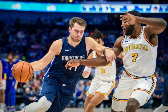 Dallas Mavericks' Luka Doncic posts another historic triple-double, this time vs. Warriors