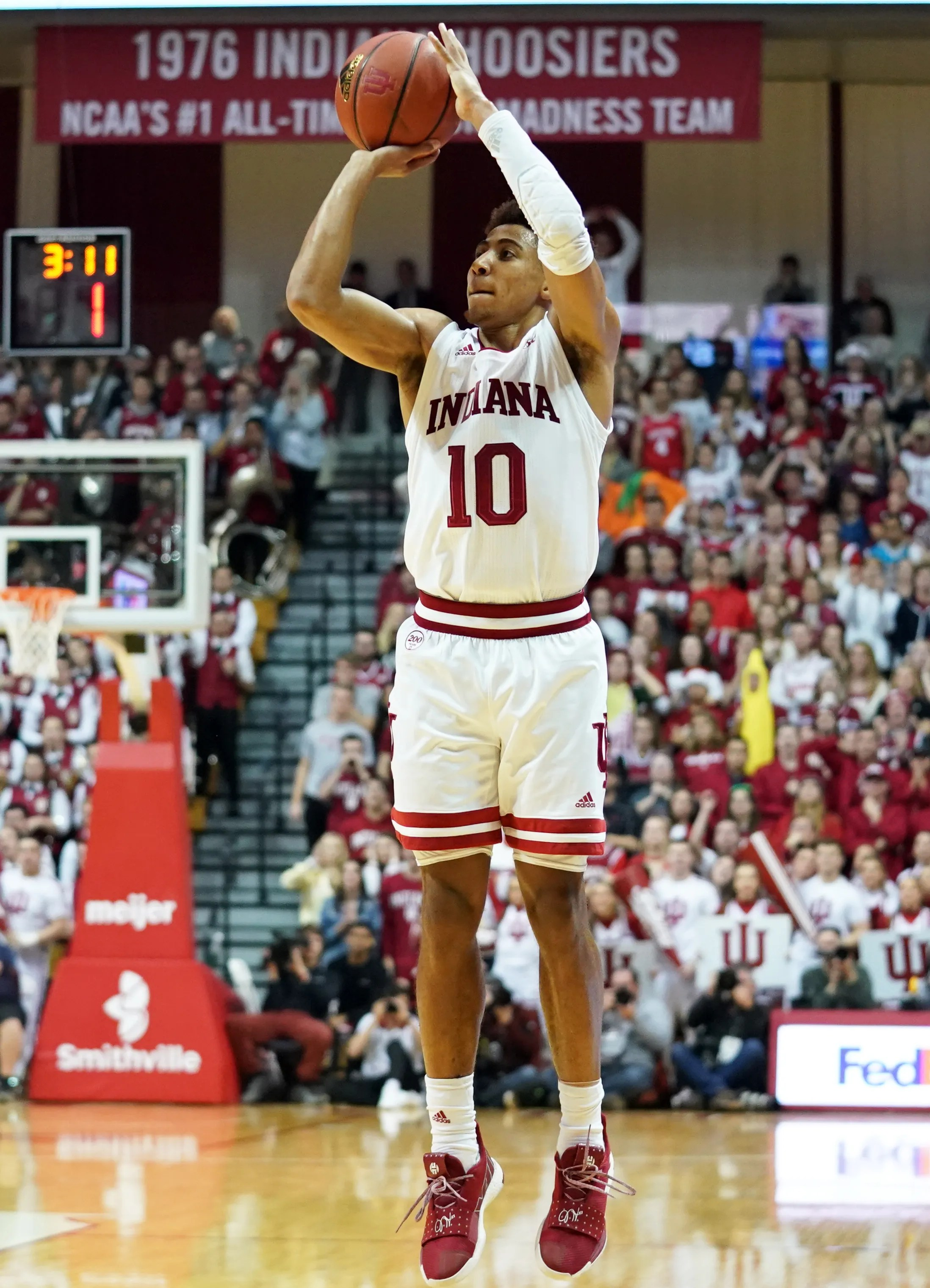 Indiana Basketball Rob Phinisee Is Hard Soul Of This