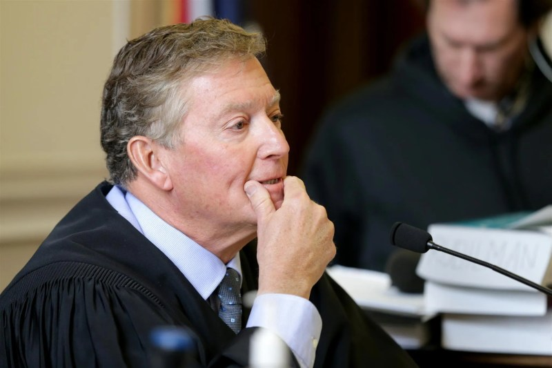 Common Pleas Judge Robert Ruehlman, who imposed a  homeless ban in Hamilton County