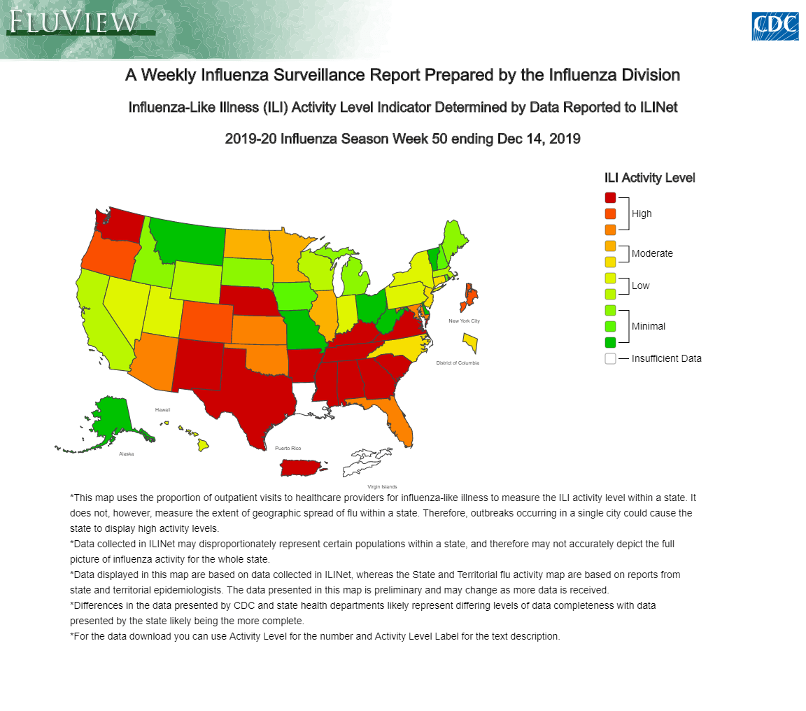Influenza catches on early this year, with Influenza B showing ...