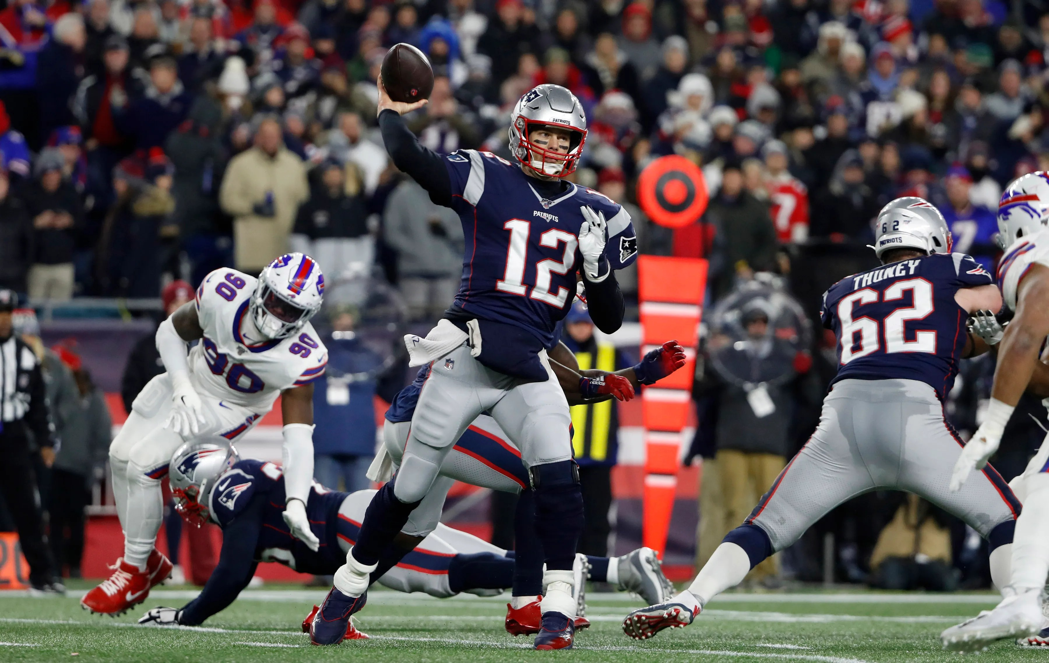 New England Patriots Top Buffalo Bills For 11th Afc East