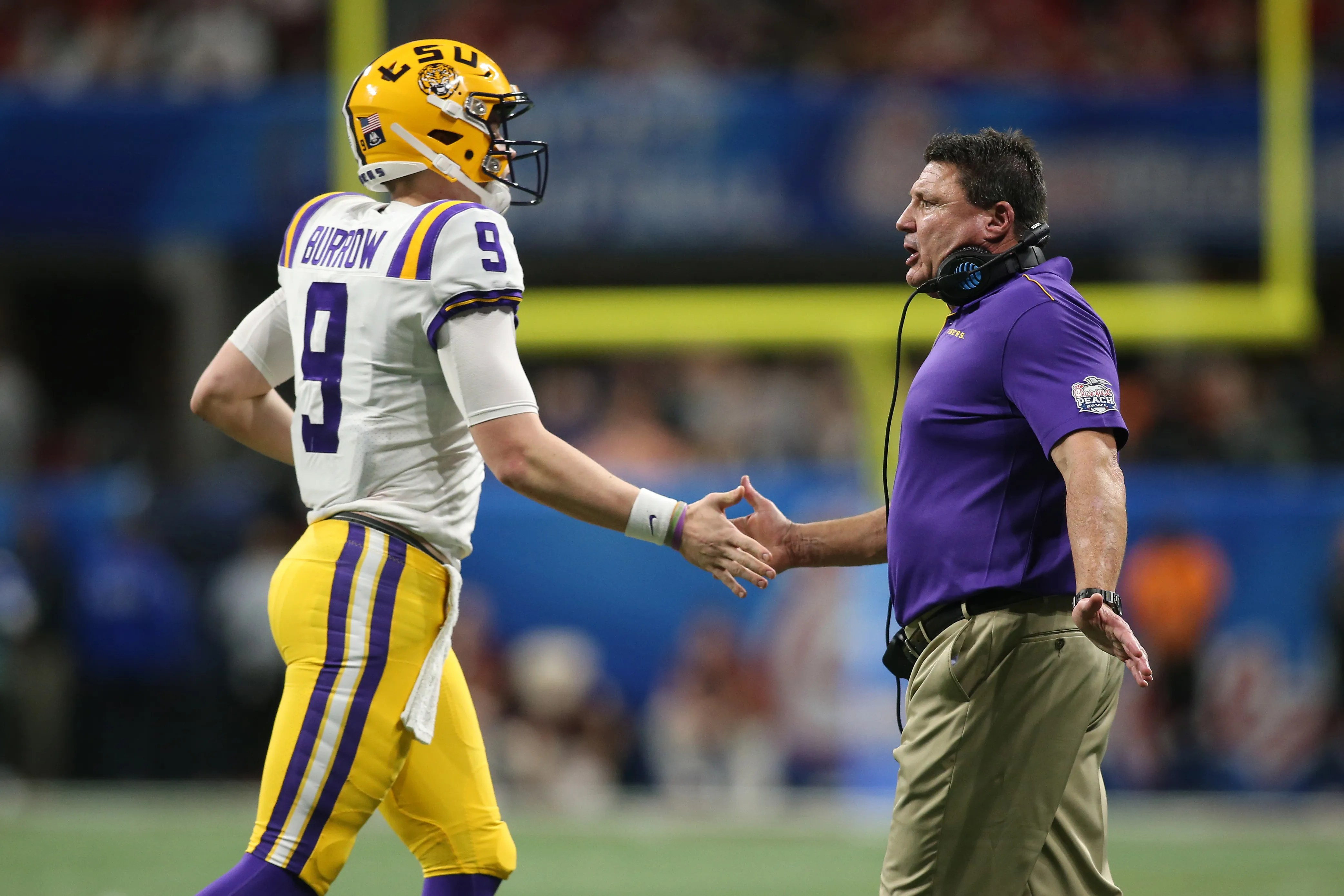 Lsu National Title Would Be Birthday Present For Ed