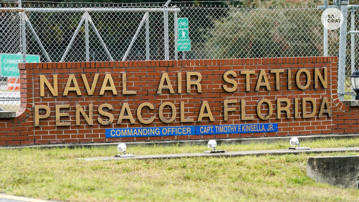 The attorney general described an attack at Pensacola Naval Air Station as