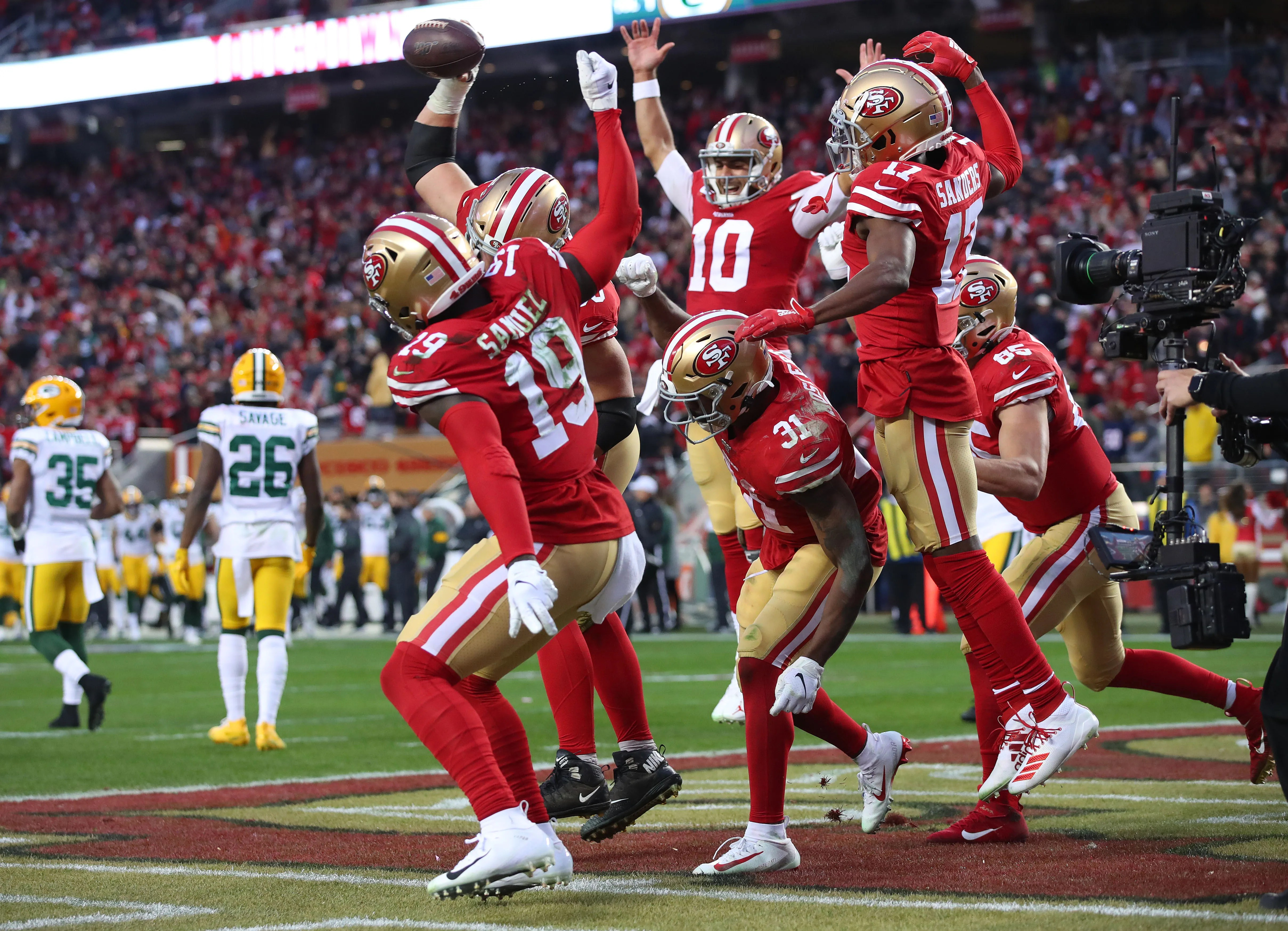 49ers Smash Packers In Nfc Championship Game To Reach