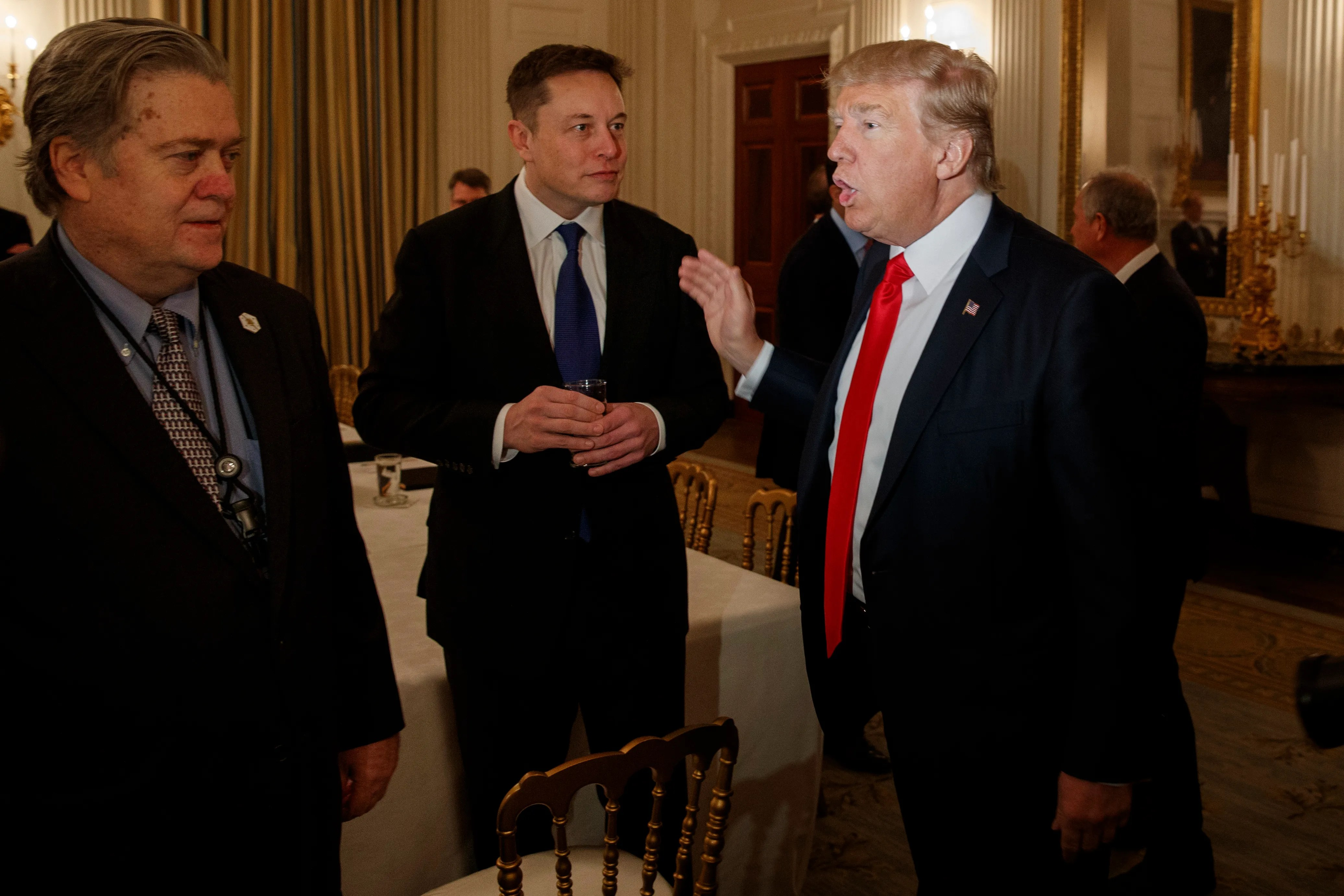 Donald Trump: Elon Musk is 'one of our great geniuses' like Edison
