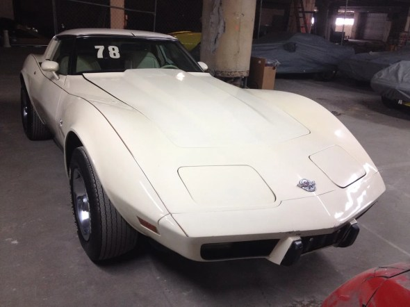"""This 1978 Corvette will be given away as one of the """"Lost Corvettes"""" in a promotion by the Corvette Heroes to benefit the National Guard Educational Foundation."""